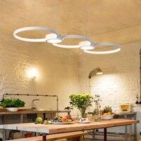Современные светодио дный подвесные светильники для жизни Обеденная DIY висит светильники AC85 ~ 265 В Алюминий украшения дома подвесной светил