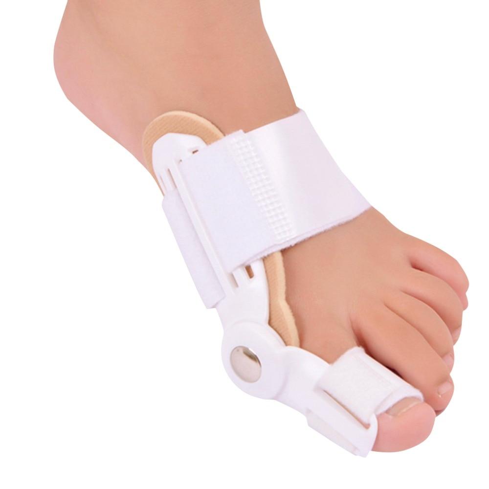 1pc Big Toe Separator Foot Care Tool Separators Stretchers Foot Pads Adjustable Hallux Valgus Orthopedic Insoles Pain Relief