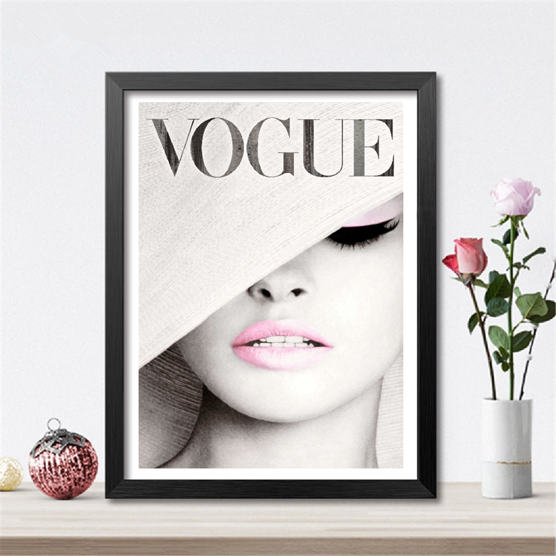 Vogue Art Canvas Painting