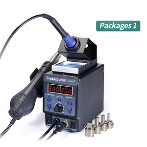 Image 4 - YIHUA 8786D I SMD Soldering Stationคู่Digital Display Cool Hot Air Gun Soldering Iron 2 In 1 Rework Station