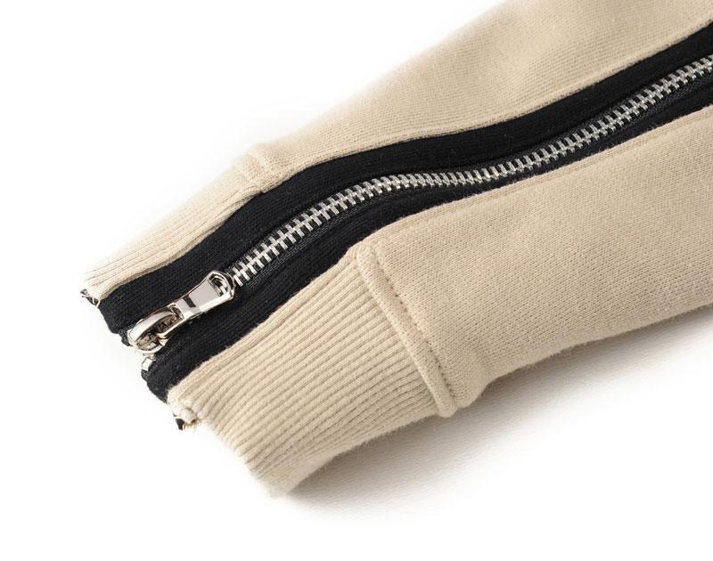 Zipper Sleeve Hoodies 10