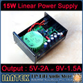 15W Linear Power Supply Regulated power supply Refer to STUDER900 support 5V/2A or 9V/1.5A Output , Free shipping