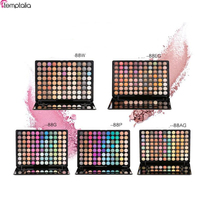 88 Color Eyeshadow Palette Silky Powder Professional Make Up Pallete Product Cosmetics Smoky Warm Matte Color