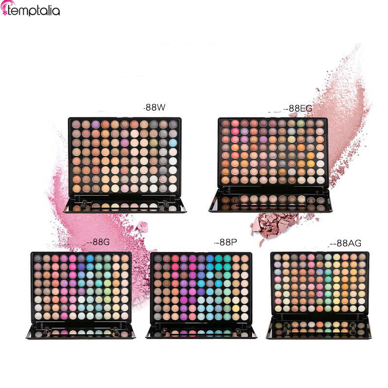 88 Color Eyeshadow Palette Silky Powder Professional Make ups
