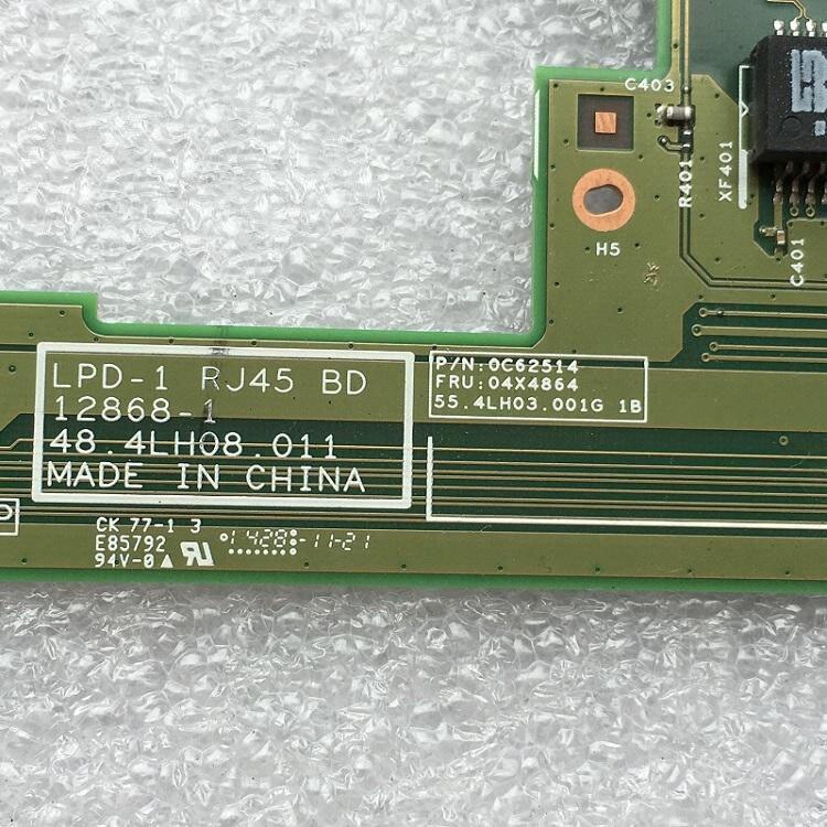 For Lenovo ThinkPad L540 Ethernet USB Board 48.4LH08.011 04X4864