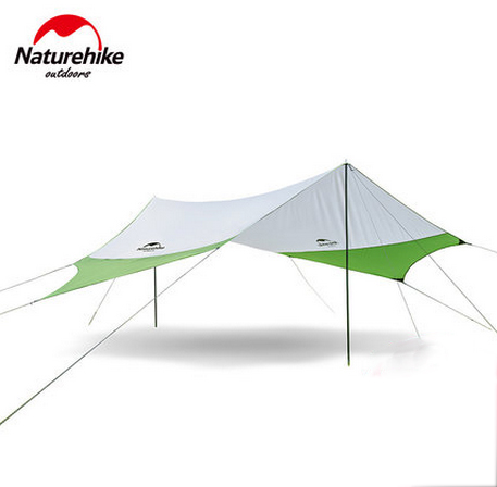 Naturehike Outdoor Picnic Beach BBQ Sun Shelter Fast Built Quick Removable Waterproof Awning Canopy NH16T012-S esspero canopy
