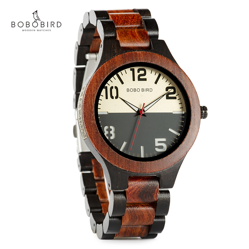 zegarek meski BOBOBIRD Men Wood Watch Metal Label Two-tone Design Maple Wood Quartz Wristwatch Dropship Customized Gifts C-S12zegarek meski BOBOBIRD Men Wood Watch Metal Label Two-tone Design Maple Wood Quartz Wristwatch Dropship Customized Gifts C-S12
