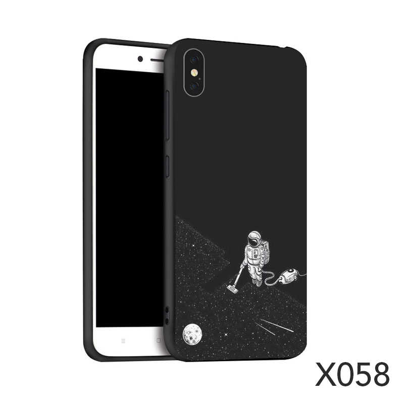 Silicone phone back coverPainted  TPU Case for iphone 6 7 8 xs for huawei honor 8x honor 10 samsung a50