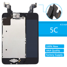 for Apple iPhone 5C LCD Touch Screen and Digitizer Display Replacement Full Assembly Complete With Small Parts