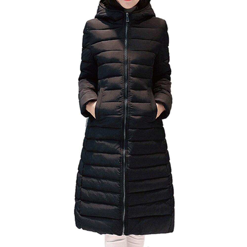 Long Couleur Veste black Plus Épais Parka gray Taille Mince Army Coton Rembourré Femmes Sucrerie Capuchon 2018 Chaud De Manteau D'hiver red À La Green ZqwnPU