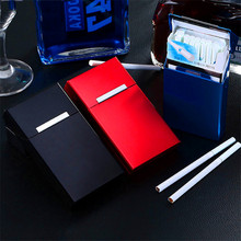 6-Colour Lady Cigarette Box Magnetic Suction Can Hold 20 Cigarette Case Cigarette Accessories of Aluminium Alloy Smoking Tool machinability study of aluminium silicon alloy