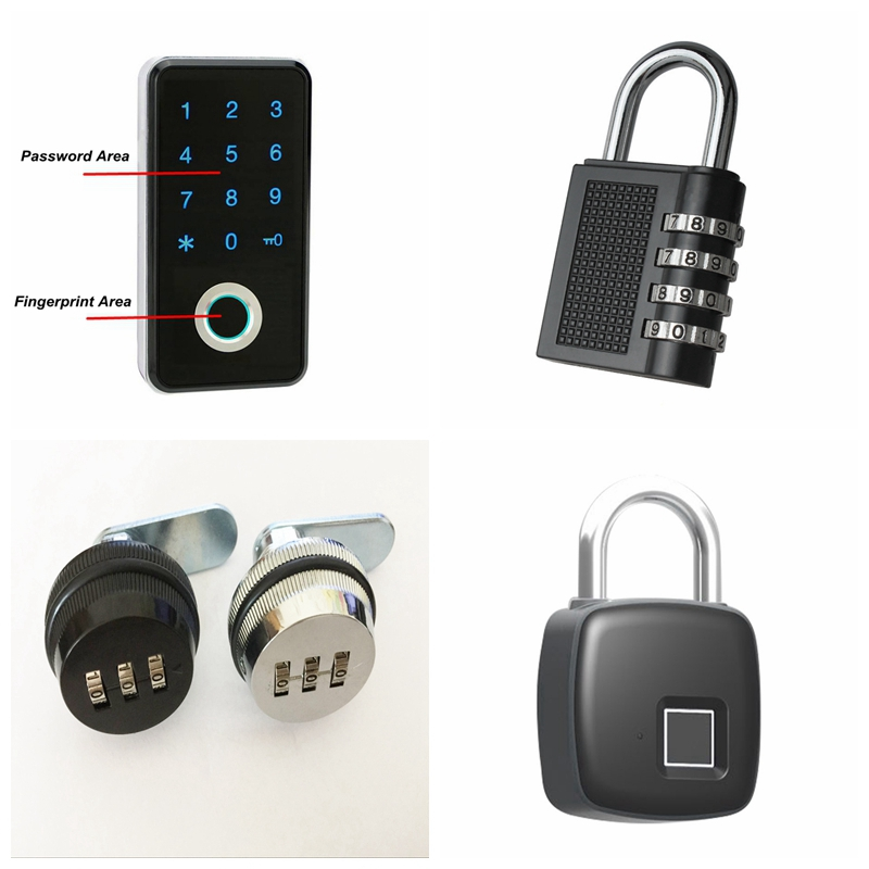 stainless steel password lock 6