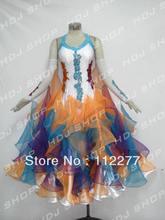 ballroom dance dress standard dancing costume HM8675