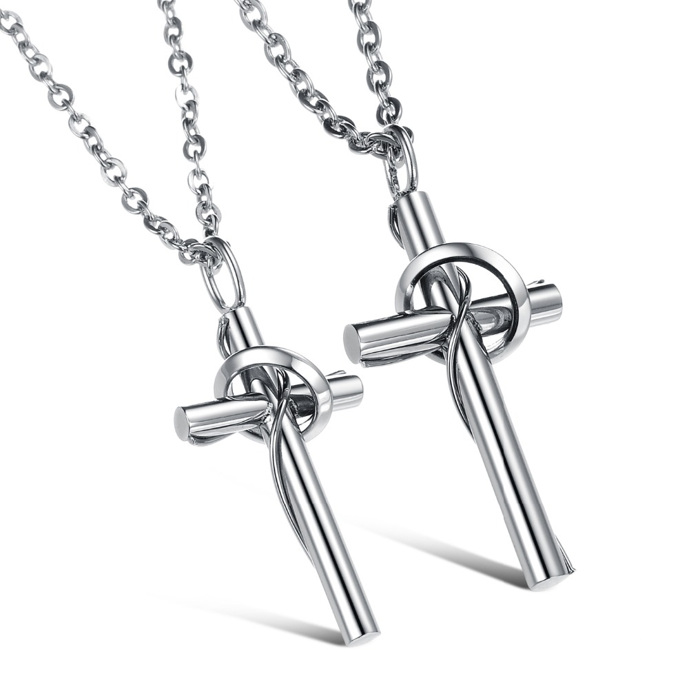Compare Prices on Matching Cross Necklaces for Couples- Online ...