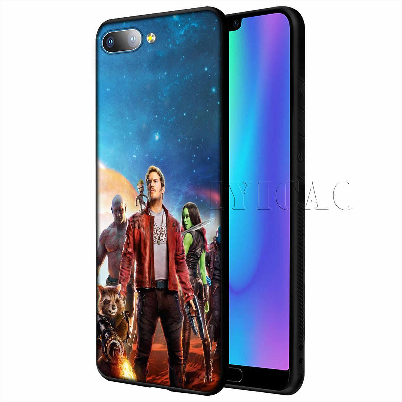 IYICAO Người Giám Hộ của cho Galaxy Marvel Mềm dành cho Huawei Y9 Y7 Y6 Prime 2019 Tôn Vinh 20 8C 8X8 9 9X10 Lite 7C 7X 7A Pro