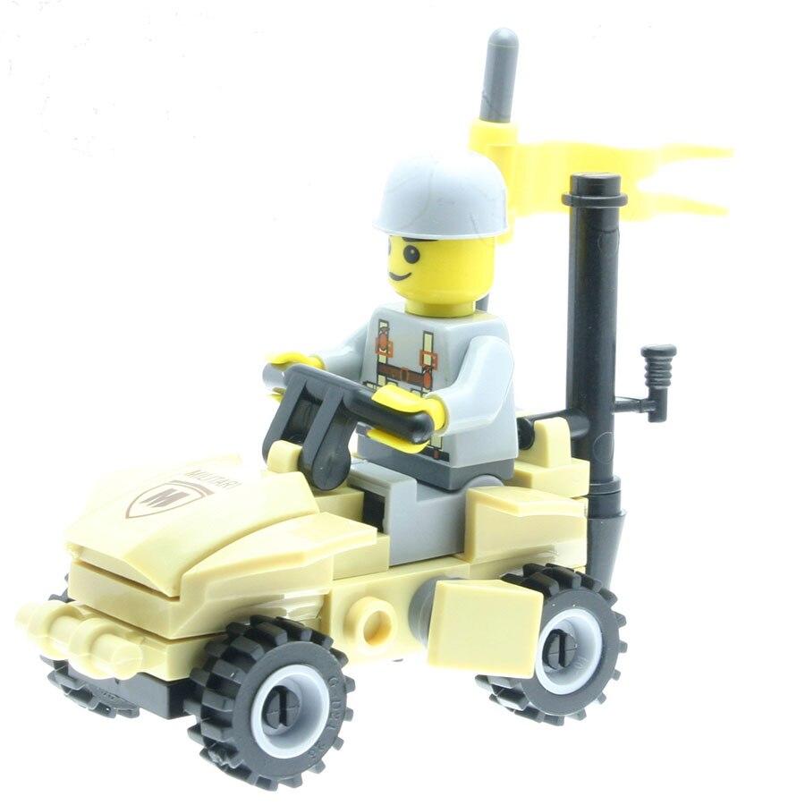 43Pcs/set City Policemen Model Figures Designer Toys for Children Building Block Kits Compatible with All Brands DT0114