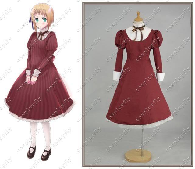 Axis Powers Hetalia Lichtenštejnsko Dívka Cosplay Hetalia Axis Powers Costume