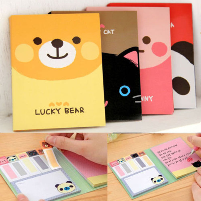 one animal cute sticker post it bookmark point it marker memo flags