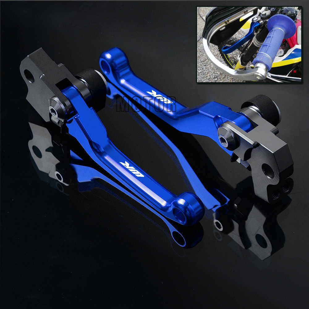 Motorcycle Dirt Bike Brake Clutch Levers For YAMAHA WR250 WR450 WR250F WR450F WR250R WR250X WR 250 450 250F 450F 250R 250X F R X 270mm front brake disc rotor for cr 125 250 500 crf 250r 250x 450x 450r 230f motocross supermoto enduro dirt bike off road