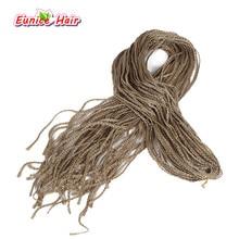 Богемный стиль, длинные 28 дюймов, вязанные крючком 3 S, в коробке, косички, волосы, 18 цветов, синтетические волосы для наращивания, Zizi, твист, коробка, косички, волосы