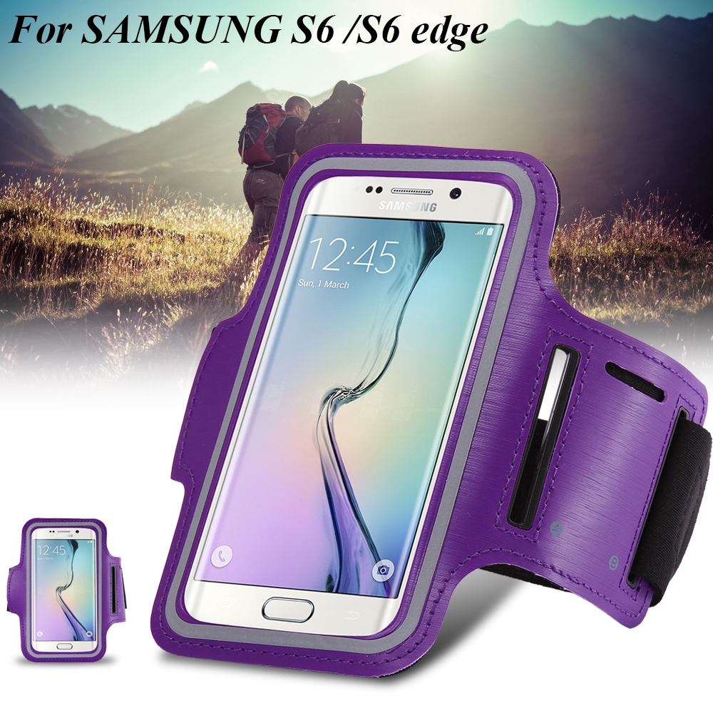 Sport Arm Band Case For Samsung Galaxy S5 S6 edge S7 S8 For iPhone 7 6 6s For Huawei P7 P8 P9 P10 For HTC M7 M8 9 Phone Case Bag