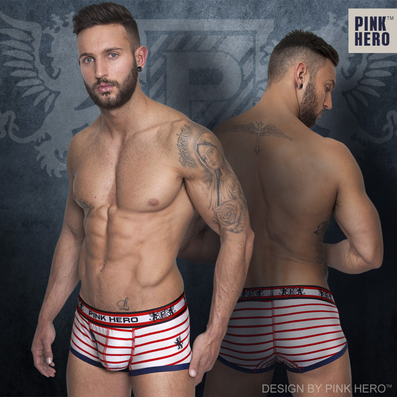 Clear inventory Mens Boxer Underwear Comfortable Panties Men Male Underwear Sexy Striped Underwear Boxer Fringe Underpants