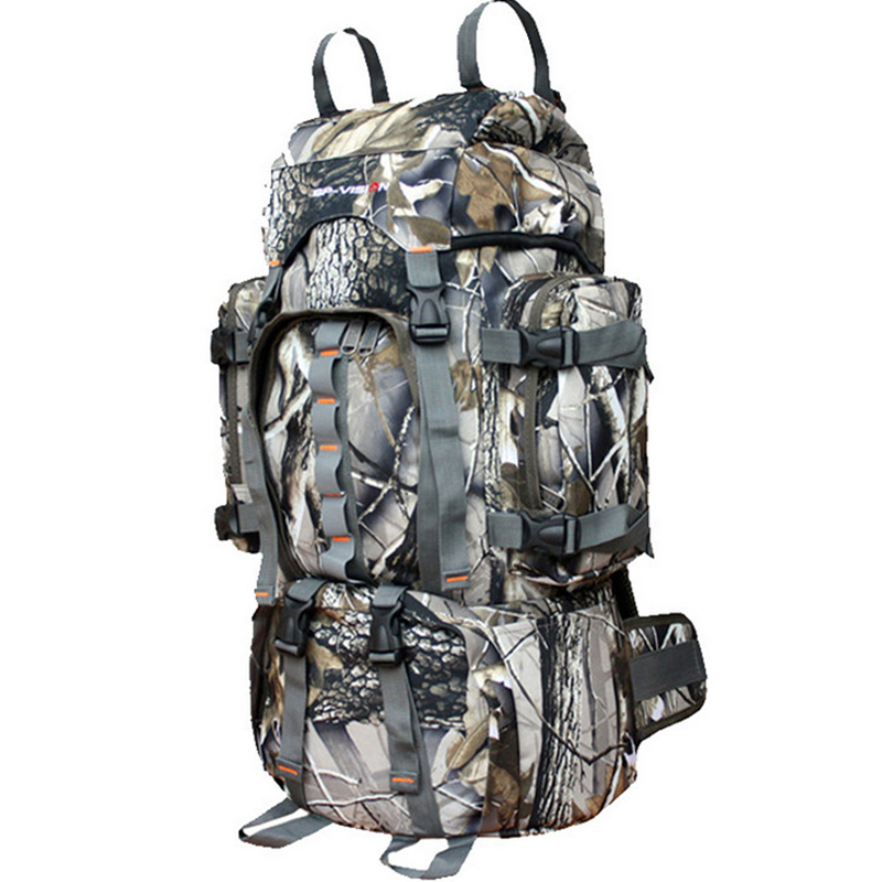 Super Large 60L Camping Tactical Bag Rucksack Hunting Backpack Mochila Camouflage Bag Military Large Capacity Camping Bag 35l waterproof tactical backpack military multifunction high capacity hike camouflage travel backpack mochila molle system