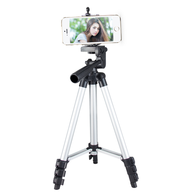 4 Section HOT Mini Foldable Tripod Stand Flexible Mount Travel Party Partner Cellphone Smartphone Camera Tripod