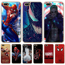 Joker venom marvel Spiderman Iron Man For Huawei P8 Lite 2017 P9 P10 P20 Plus Pro P Smart Mate 9 10 20 phone case Cover Cool(China)