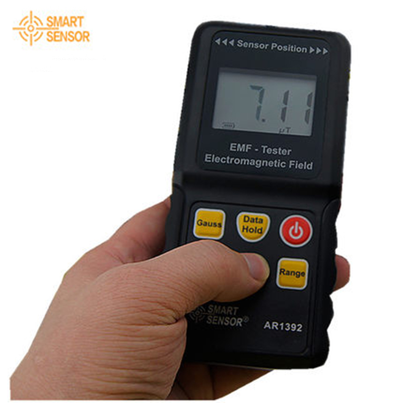 Smart Sensor AR1392 EMF Electromagnetic Radiation Meter Detector phone induction cooker gauss meter electric 4 heads and 6 heads induction cooker embedded electromagnetic oven household commercial electromagnetic furnace cooking