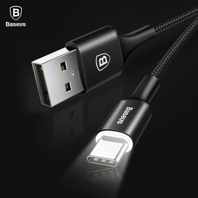USB Type C Cable For Samsung Galaxy S9 S8 Note 8 Plus Fast Charging Cable For Xiaomi Mi 5 Oneplus 6 USB Type-C Cable