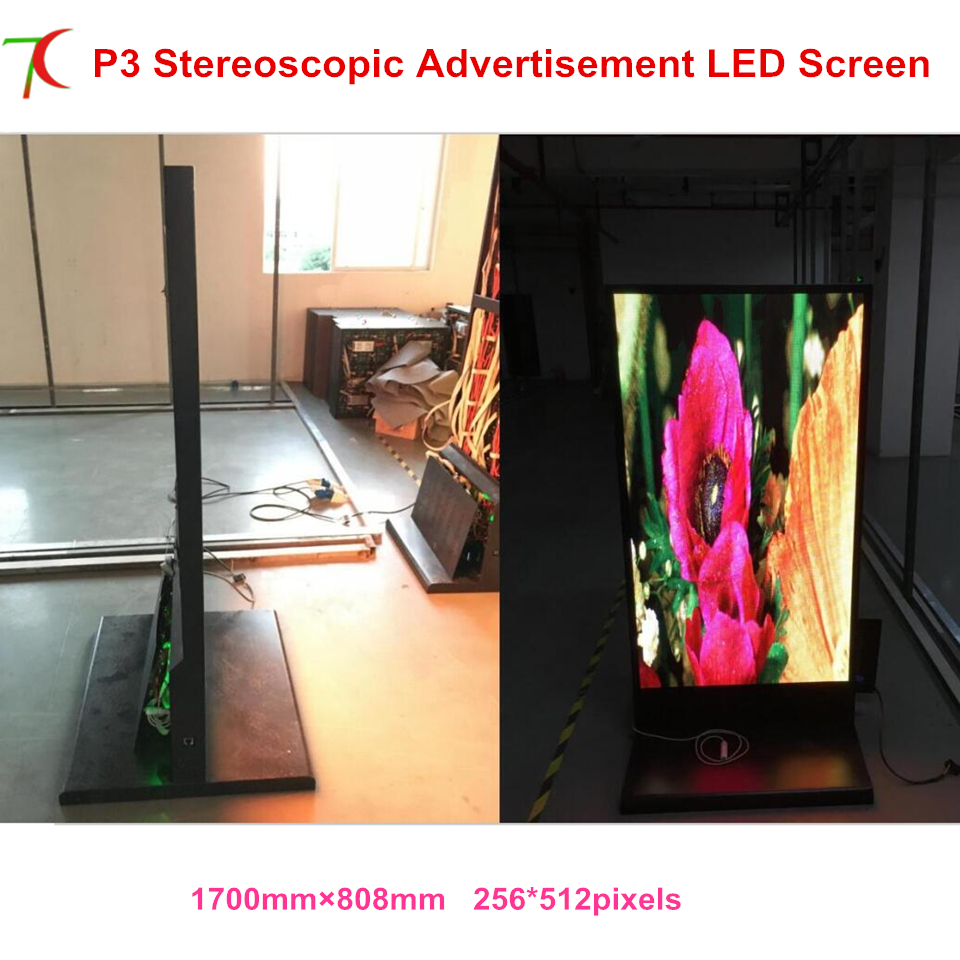 China manufacturer sales customized size indoor metal display advertising led full color advertisemet display led poster screen