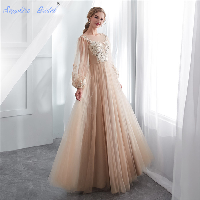 Sapphire Bridal 2019 New Bridal Dress Vestido De Noiva A Line