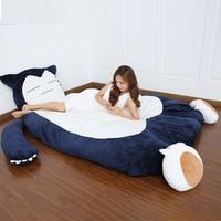 Snorlax Мультфильм Матрас татами коврик Тоторо кровать наматрасники гигантские спальный мешок прекрасный Рождественский подарок