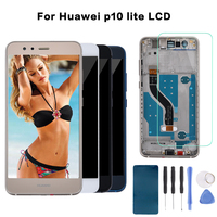 Original 5 2 LCD For HUAWEI P10 Lite Display Touch Screen Digitizer For Huawei P10 Lite