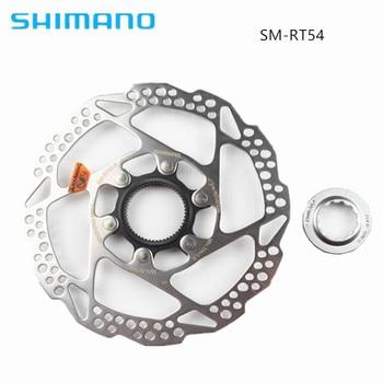 Shimano Deore SM-RT54 160mm 180mm Centerlock Disc Brake Rotor Bike Bicycle Parts система shimano deore m610 170мм ин вал 42 32 24t с кареткой серебристый efcm610c224xs