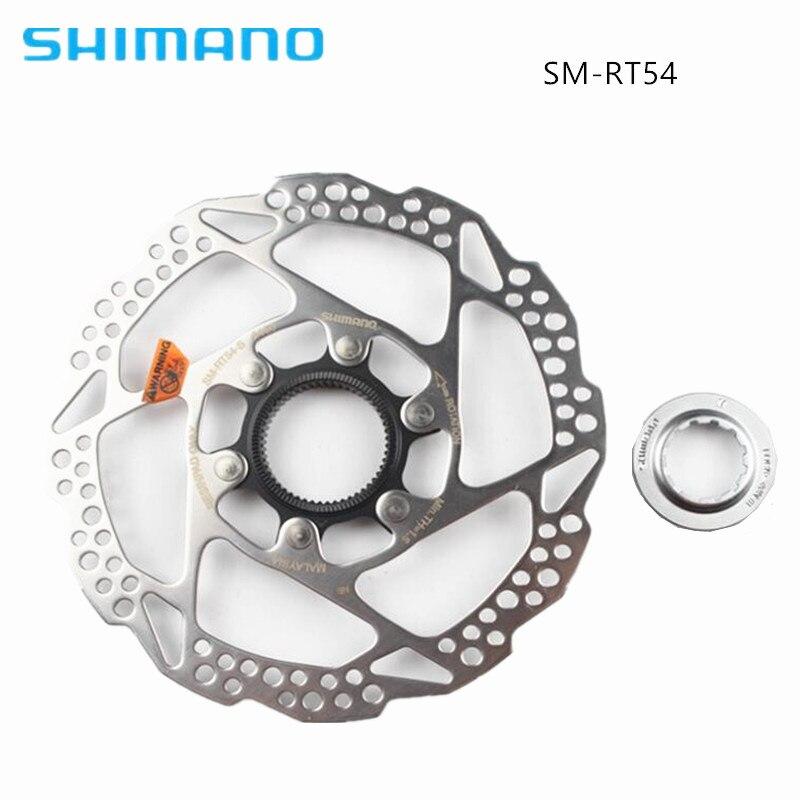 Shimano Deore SM-RT54 RT53 RT64 RT54 160mm 180mm Centerlock Disc Brake Rotor Bike Bicycle Parts