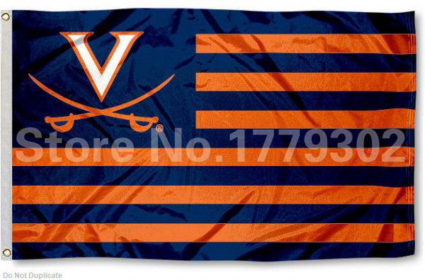 Virginia University Of Flagge 3
