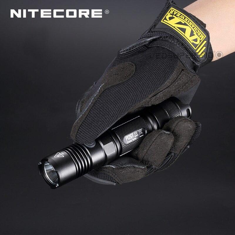 Заводская цена Точная серия Nitecore P12GT портативный тактический фонарик 1000 люмен CREE XP L HI V3 светодиодный - 4