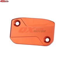 CNC Front Brake Fluid Reservoir Cover Cap Fit KTM SX EXC EXCF SMR 250 350 SXF XCF EXC 2011-2015 Brembo Master Cylinder clutch cover protection cover water pump cover protector for ktm 350 exc f excf 2012 2013 2014 2015 2016