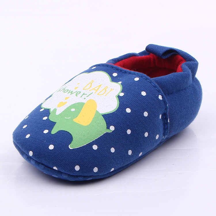 Zebra First Walker Baby Shoes Toddler Newborn Infant Boys Girls Soft Sole Cotton Crib Shoes Anti-Slip Prewalker 0-12M DS19