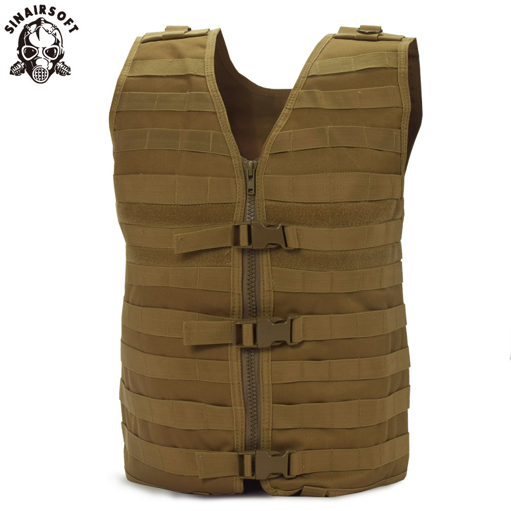 SINAIRSOFT Molle Airsoft Tactical Vest Camouflage Vest Army Military CS Outdoor Fishing Hunting Gear LY1802