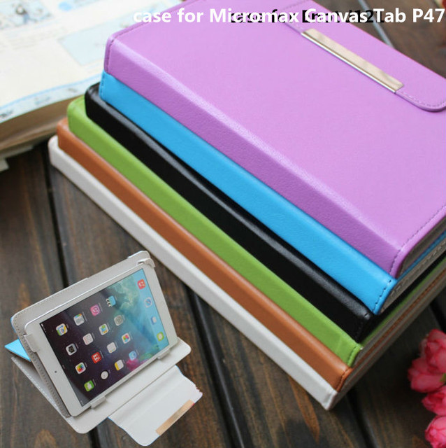 online store 9e0fe 80805 US $20.0  Tablet case for Micromax Canvas Tab P470 case cover pu leather  gift-in Tablets & e-Books Case from Computer & Office on Aliexpress.com    ...