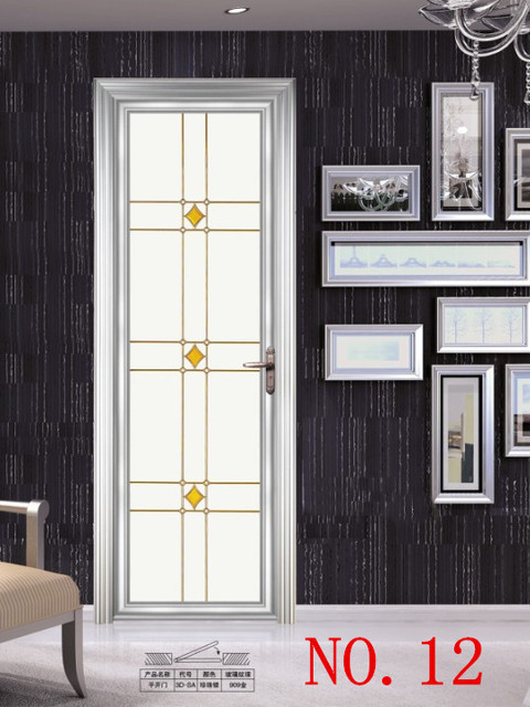 Aluminum Sliding Door Luxury Folding Doors Bathroom Door Waterproof - Bathroom doors waterproof