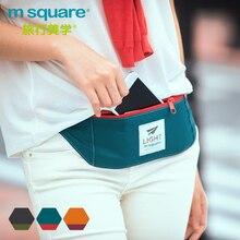 M Square Multifunctional Fanny Pack Casual Waist Bag Women Waterproof Belt Bag Men Phone Waist Pack Coin Purse