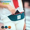 M square fanny paquete de la cintura ocasional multifuncional bolso de las mujeres bolso de la correa de los hombres a prueba de agua teléfono monedero paquete de la cintura