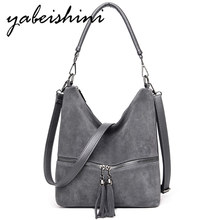2019 bags for women tote High end Shoulder Bag tassel Lady luxury handbags women bags designer sac a main femme Messenger Bags aihyzm fashion bags for women high quality brown shoulder bag luxury handbags women bags designer sac a main women messenger bag
