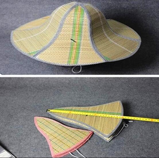 9ed52c30dbc Funny Fan Pattern Men Summer Hat Beach Sun Hats New Flat Top Straw Hat Men  Boater Hats Bone Feminino-in Sun Hats from Apparel Accessories on  Aliexpress.com ...