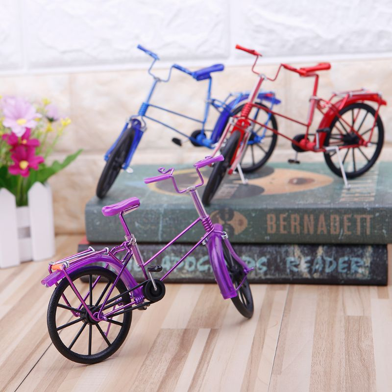 Metal Bike Bicycle Toy Mini Functional Finger Toys Creative Game Workmanship Gift Collections
