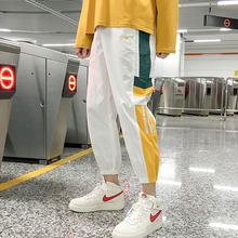 Men pants student 2019 new arrival spring and autumn Korean style loose trendy male ankle-length fashion teenager boy n04